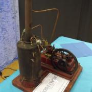Machine à vapeur des années 20 de