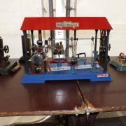 Machine à vapeur Wilesco-Werkstatt