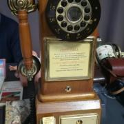 """Magnifique téléphone """"Country Téléphone 1928"""""""