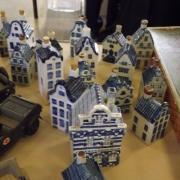 Maisons en porcelaine