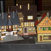 Maisons pour réseaux de train HO