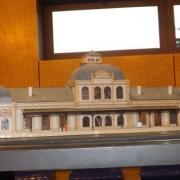 Maquette d'une gare échelle HO