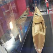 Maquette d'une Gondole Vénitienne en construction