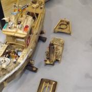 Maquette de bateau réalisation de Freddy