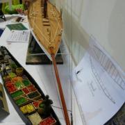 Barque à Cornet d'Amiens détails de fruits et légumes