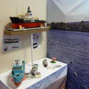 """Le """"Smit Rotterdam"""" et des maquettes réalisées en impression 3D"""