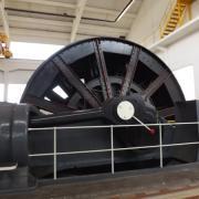Mécanisme de la machine d'extration
