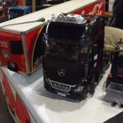 Mercedes Actros et sa remorque de soda