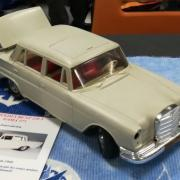 """Mercedes """"Benz 220 S Gama 375"""" -  Marque """"Gama Toys Western Germany"""""""