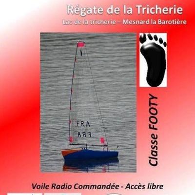 Régate de la Tricherie - Classe Footy à Mesnard la Barotière - (Septembre 2018)