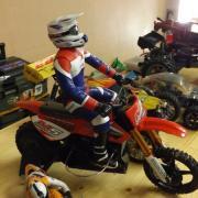"Moto de Cross ""KTM"""