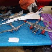 Nostalgie avec cette maquette du Concorde