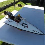 "Offshore des années 50 Type ""VO152"" Poncelet Triangle"