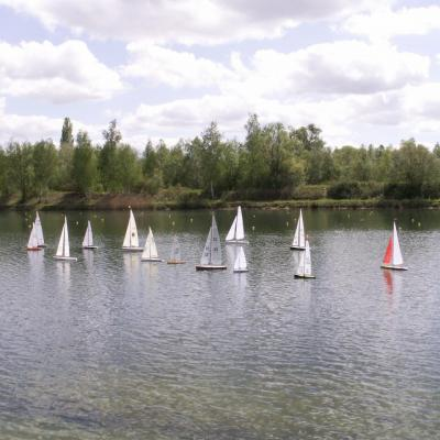 KM voile, bassin nautique à Meaux (Mai 2012)