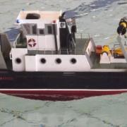 Prémière mise à l'eau pour l'Albatros