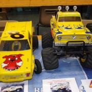 "Pro truck Ford ""Mad Dog"" et Monster truck Ford ""Midnight Pumpkin"""
