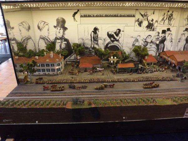 Rail Club de Meaux - A Bercy avec Honoré Daumier