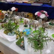 Réalisation des décors en perles