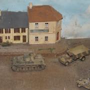 Reconstitution d'une voie férrée belge aprés la guerre de 39-45