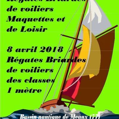 Régates Briardes de Voiliers Maquettes et Loisirs à Meaux (Avril 2018)