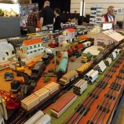 Réseau de trains Hornby et Jep des années 40-50 échelle 1/43,5