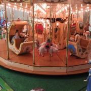Détail du carrousel