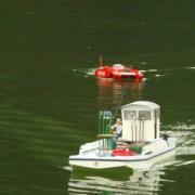 Retour au port de la barge ostréicole