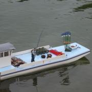 Retour d'une Barge ostréicole avec ses huitres