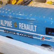 Service course Alpine Renault