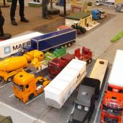 Stand des camions RC