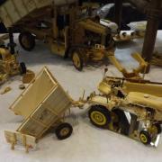 Tracteur et sa benne réalisation de Freddy