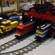 Trains réalisés avec des Légo