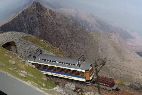 Tramway Snaefell Mountain Railway