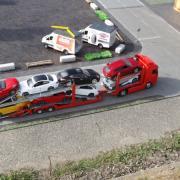 Transport de voitures