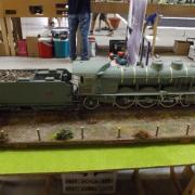 Très belle locomotive à vapeur une