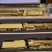 Très belles locomotives en laiton