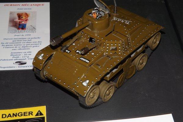 Un char mécanique Tchad N°10
