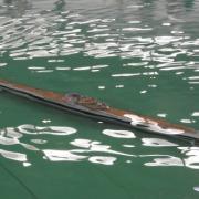 Un sous marin en plongée