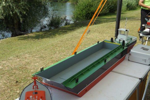 Un Springer et sa barge