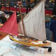 Une barque Catalane de retour de pêche