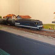 Une BB 67015 et ses wagons citerne