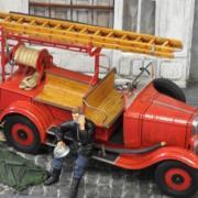 Véhicule ancien des Pompiers de la ville d'Argeles