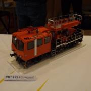 Véhicule ferroviaire de maintenance une VMT 863 (Roumanie)