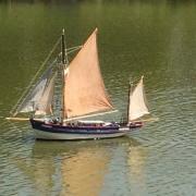 Vieux gréement en navigation