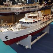 Yacht de luxe des années 40, le