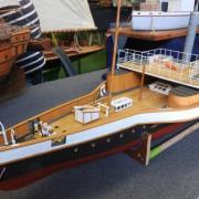 Yacht Royal à vapeur roumain le