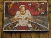 Galerie Tybarz'h Sur le quai 29570 Camaret - Tèl : 07 80 48 20 22